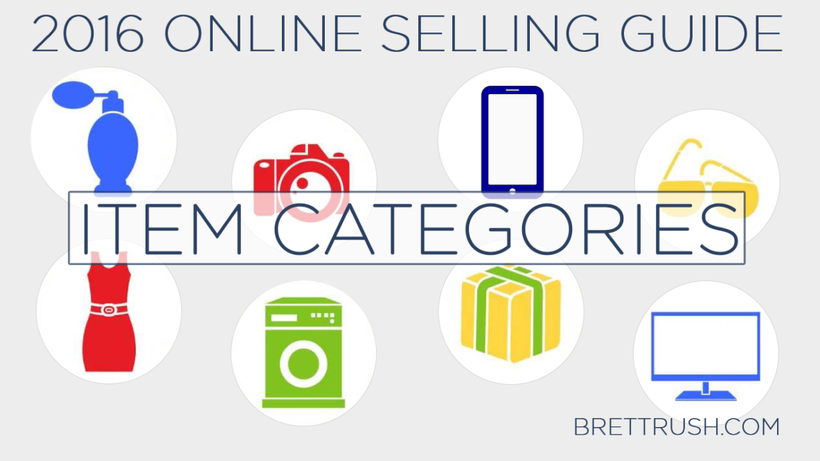 2016 Online Selling Guide - Categories